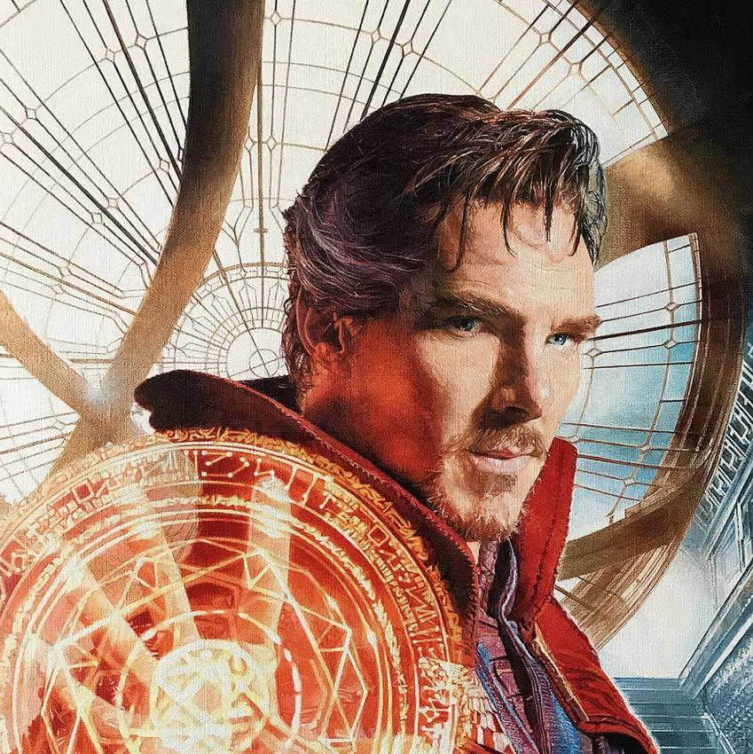 Benedict Cumberbatch por CMc